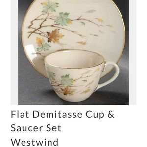 WESTWIND BY LENOX CUP & SAUCER SET